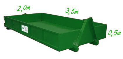 Container 3m<sup>3</sup>