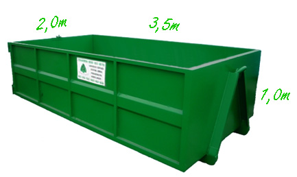 Container 6m<sup>3</sup>