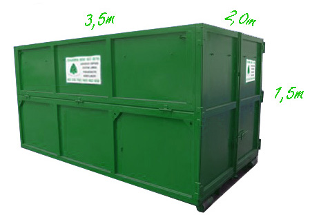 Container 9m<sup>3</sup>
