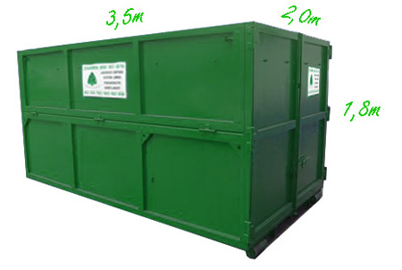 Container 12m<sup>3</sup>